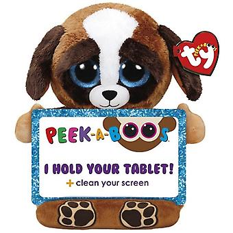 TY Pups Dog Ripieno animale Portatablet per tablet 32cm