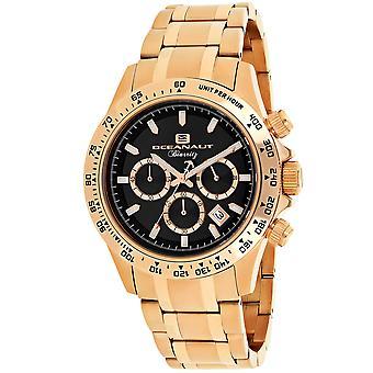 Oceanaut Men-apos;s Biarritz Black Dial Watch - OC6119
