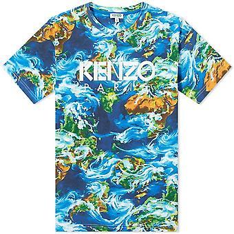 T-shirt met logo print
