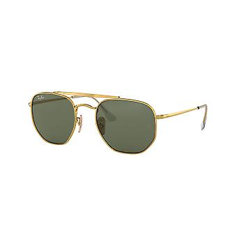 Ray-Ban Marshal RB3648 001 Gold/Green Sunglasses