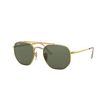 Ray-Ban Marshal RB3648 001 Gold/Grüne Sonnenbrille
