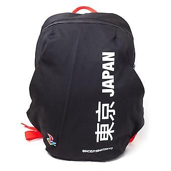 Playstation Japan Since 1994 Tokyo Seamless Functional Backpack Daypack Black