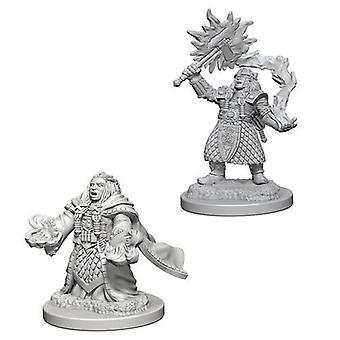 D&D Nolzur's Marvelous Unpainted Miniatures Dwarf Female Cleric (Pack of 6)