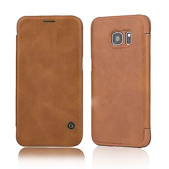 Case For Samsung Galaxy S7 Business Series Brown