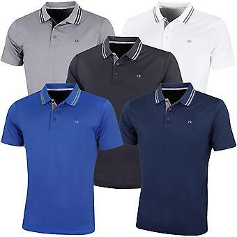 Calvin Klein Golf Mens 2021 Madison Lightweight Breathable Polo Shirt