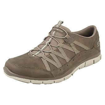 Ladies Skechers Flex Trainers Gratis Fine Taste
