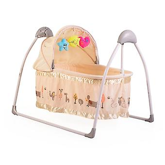Baby Cradle Accent, Electric, Remote, Music, Timer, Play Bow, Insect Repellent