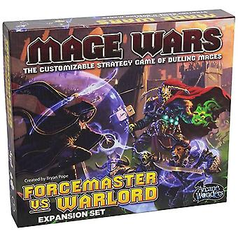 Mage Wars Force Master Versus Warlord Board Game