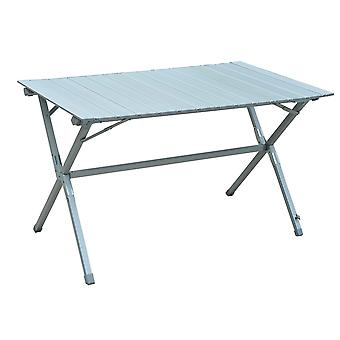 Outsunny Portable Picnic Table w/ Aluminium Frame Detachable Top Carry Bag Outdoor Dining Camping BBQ
