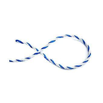 "American Granby PR38-6 .37"" x 1' Twisted Rope - Blue/White"