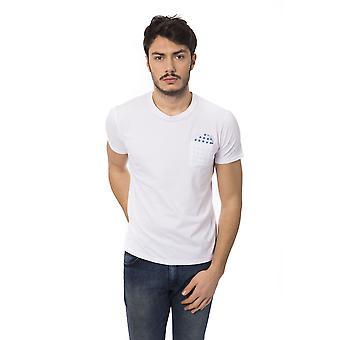 T-shirt manches courtes Blanc Bagutta homme