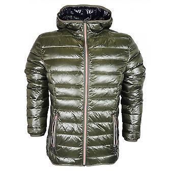 883 Police Downer Lightweight New Khaki Hooded Jacket