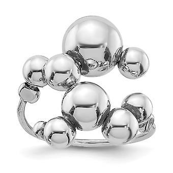 925 שטרלינג כסף מלוטש טבעת מתכווננת תכשיטים מתנות לנשים-4.7 גרם