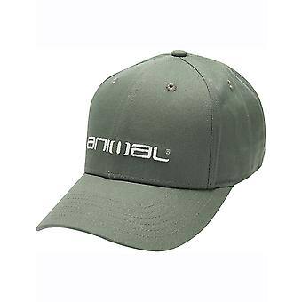 Animal Integral Cap in Dusty Olive Green