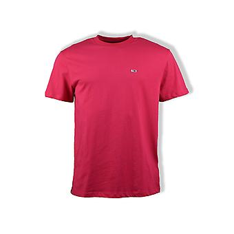 Tommy Jeans Classics T-Shirt (Bright Cerise Pink)