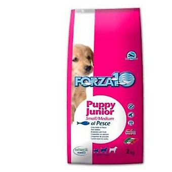 Forza10 Alimento para Cachorros y Perras Embarazadas o en Lactación Puppy Júnior Pescado Small/Medium