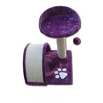Nayeco Scratcher for katte Savanna Mountain (lila) (katte, legetøj, skrabe stillinger)