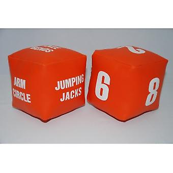 EVC-0061, Fitness Dice Set of 2 Jeu