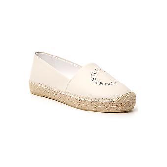 Stella Mccartney 800186w1dx09004 Women's White Faux Leather Espadrilles