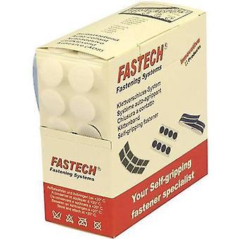 FASTECH® B20-COIN000005 Gancho-e-laço stick-on stick-on (adesivo de derretimento quente) Gancho e almofada de loop (Ø) 20 mm Branco 460 Partes