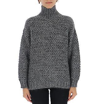 Alberta Ferretti 09275103a3509 Damen's Graue Wolle Pullover
