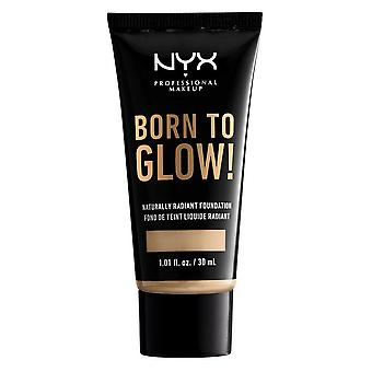 NYX Born To Glow Naturally Radiant Foundation 30ml - Nude