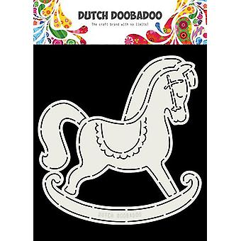 Dutch Doobadoo Card Art Rocking Horse A5 470.713.766