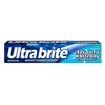 Ultra brite advanced whitening toothpaste, clean mint, 6 oz