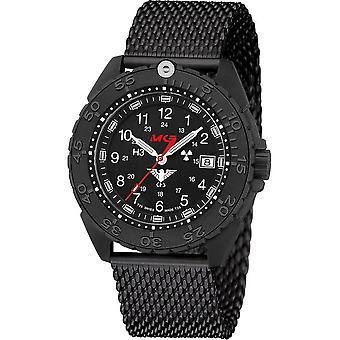 KHS Wristwatch الرجال المنفذ الأسود تيتان CR KHS. ENFBTCR. ميغابايت
