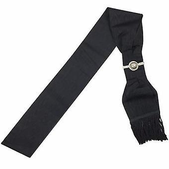 Masonic knight templar kt black sash high quality