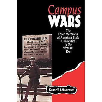 Guerras de campus: El movimiento por la paz en las universidades de estado de América en la Era de Vietnam