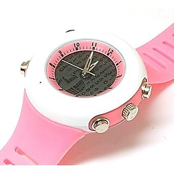 Monte Carlo Lady Pink Digital Display Analogue Ladies Sports Watch F6050