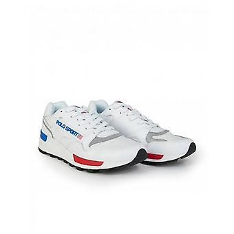 Polo Footwear Trackstar Polo Sport Leather Trainers