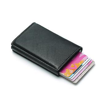 Pop-up-Kartenhalter mit RFID-Signalblockierung - schwarz
