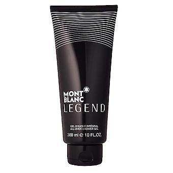 Mont Blanc Legend All Over Shower Gel Gel Douche Integral 300ml