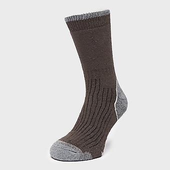 New Brasher Men's Hiker Socks Black/Grey