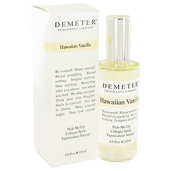 Demeter by Demeter Hawaiian Vanilla Cologne Spray 4 oz / 120 ml (Women)