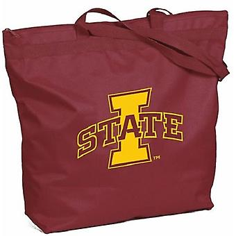 Iowa State Cyclones NCAA Glidelås Tote Bag