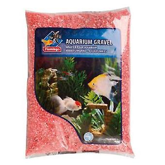 Flamingo Passion gravel Red 4kg (Fish , Decoration , Gravel & sand)
