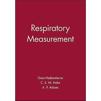 Respiratory Measurement by Goran Hedenstierna - 9780727912077 Book