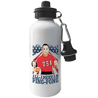 Forrest Gump All American Ping Pong Aluminium Sports Water Bottle