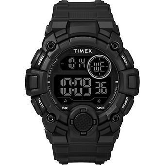 Tw5M27400, Timex Men'S Tw5M27400 A-Game Dgtl 50Mm Black Resin Strap Watch