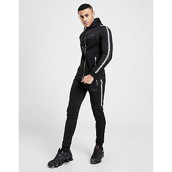 New Supply & Demand Men's Stripe Joggers Black