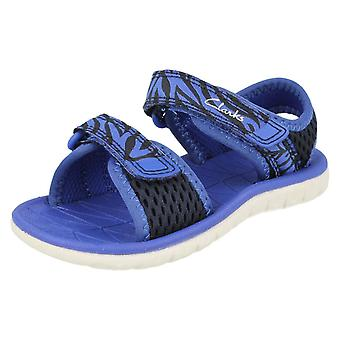 Childrens Clarks Casual Sommer Sandalen Surfen Tide T 20