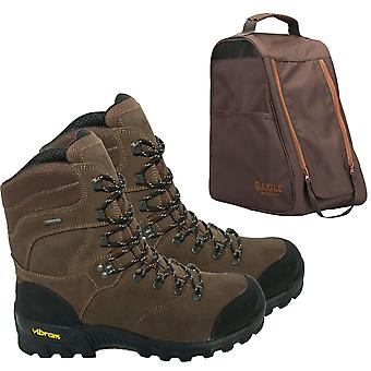 AIGLE Altavio High ankle Hiking Boots - Gore Tex Waterproof with Aigle boot bag