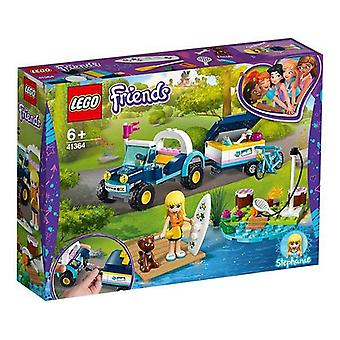 Playset Vrienden Stephanie's Buggy en Trailer Lego 41364