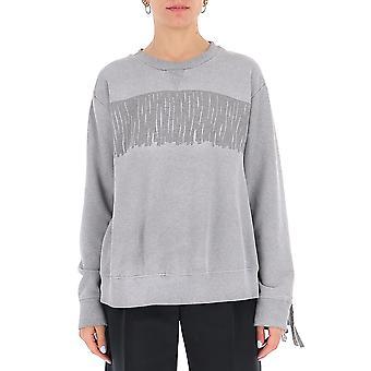 Mm6 Maison Margiela S52gu0124s25337851m Femmes-apos;s Sweatshirt en coton gris