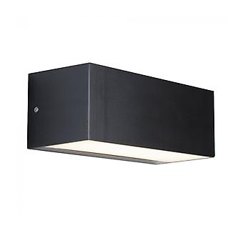 Wall Lamp 14w Led Outdoor, Polycarbonate, Anthracite