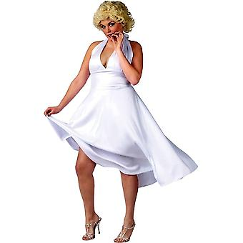 White Goddess Dress For Adults - Sexy Plus Size Halloween Costume