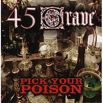 45 Grave - Pick Your Poison [CD] USA import